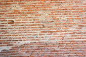 Wall brick red blur