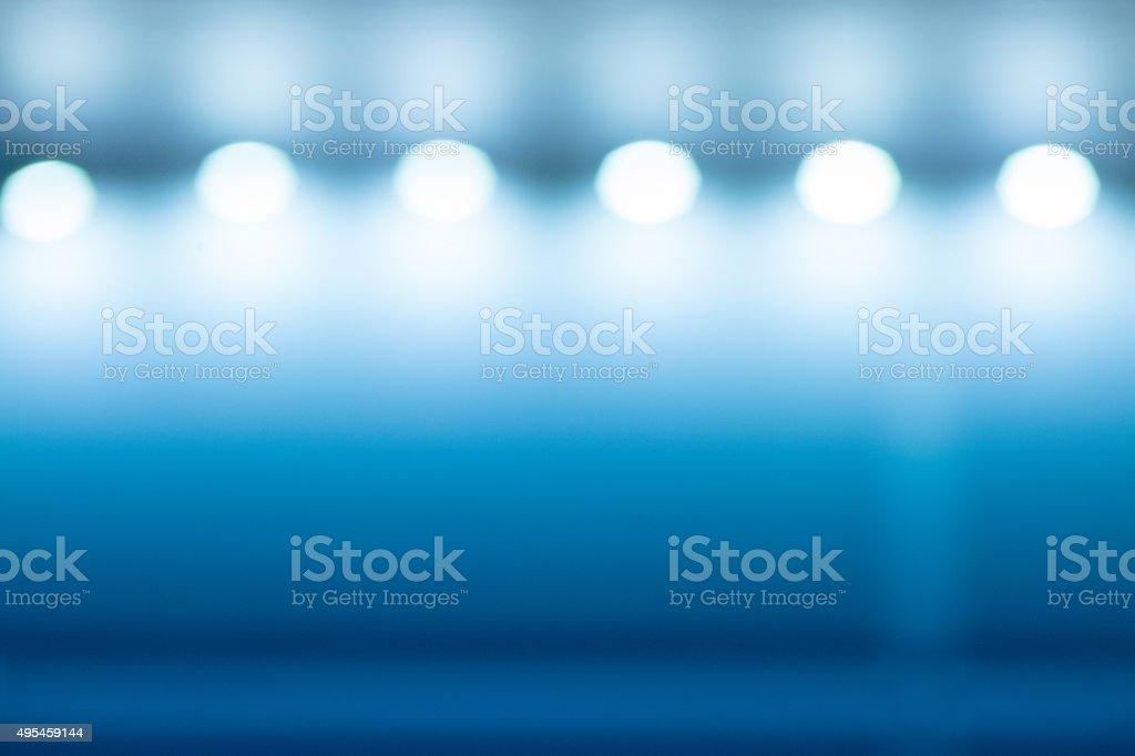 Wall bulbs interior background stock photo