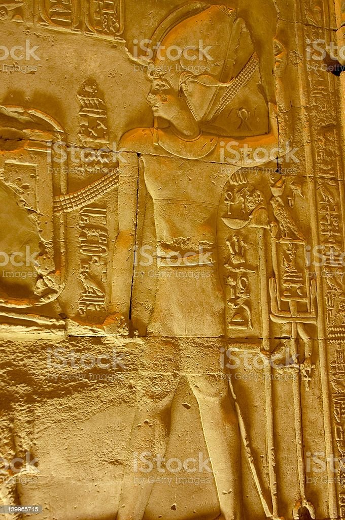Wall Carving stock photo