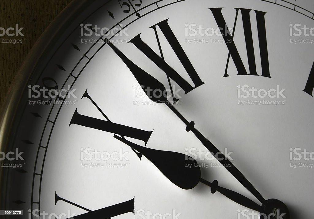 Wall Clock Face stock photo
