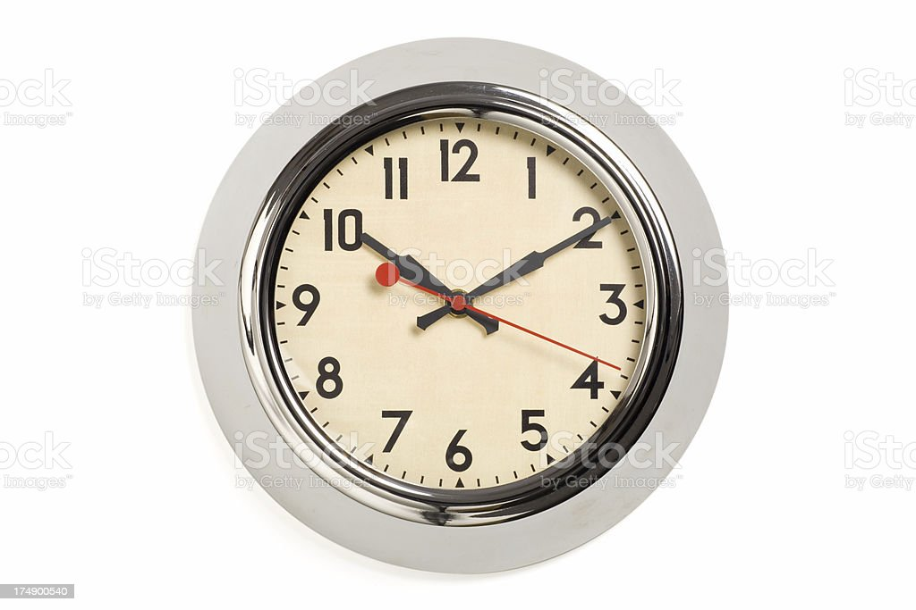 Wall Clock royalty-free stock photo