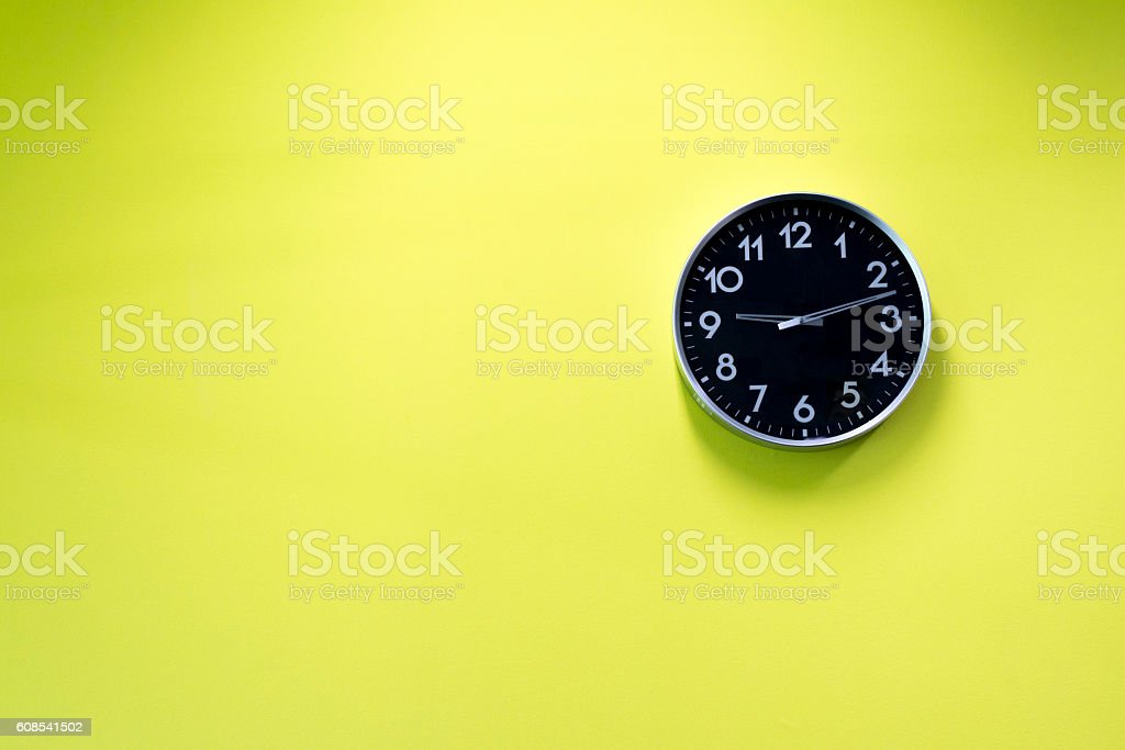 Horloge murale  photo libre de droits