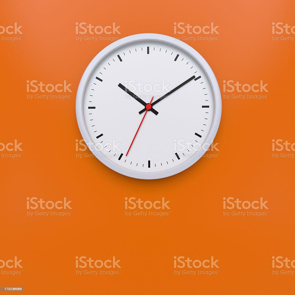 Wall Clock XL+ stock photo