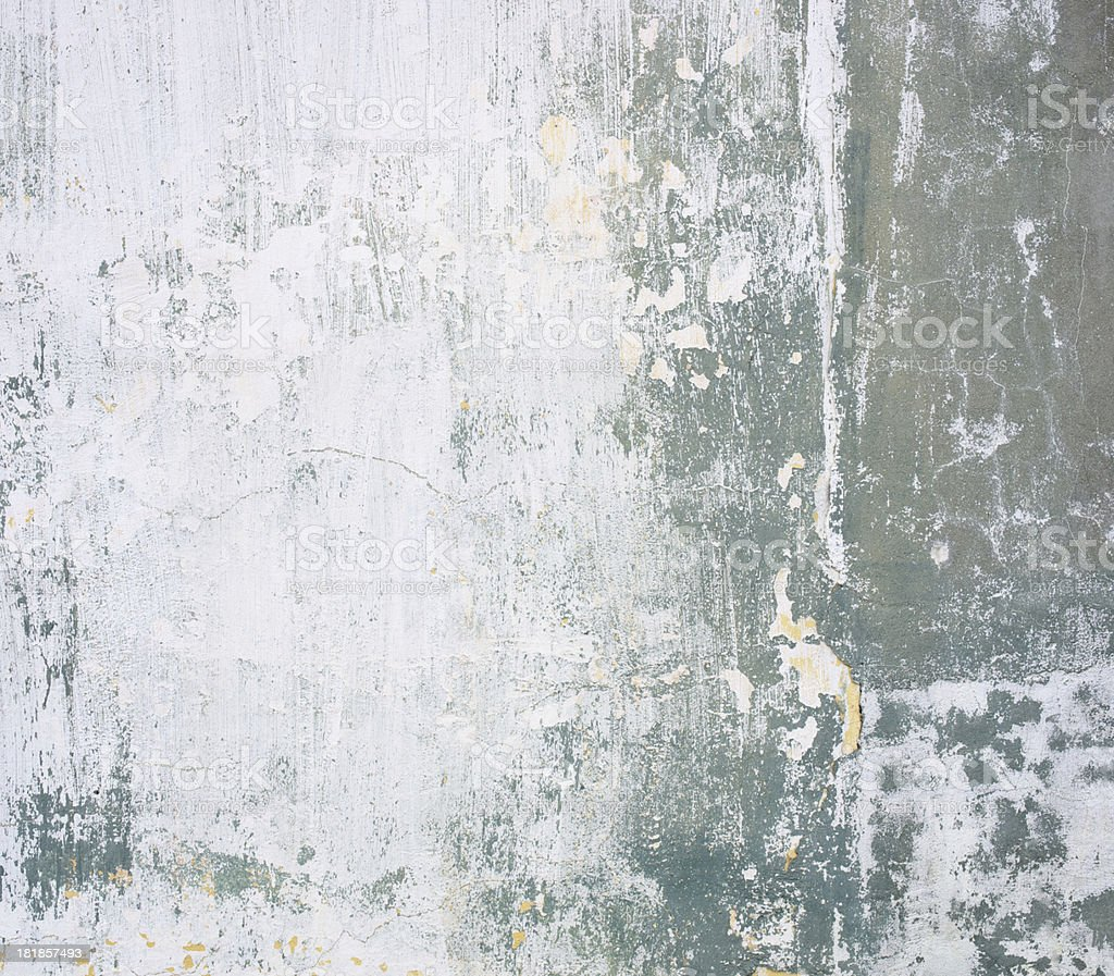 Wall concrete geen white texture royalty-free stock photo