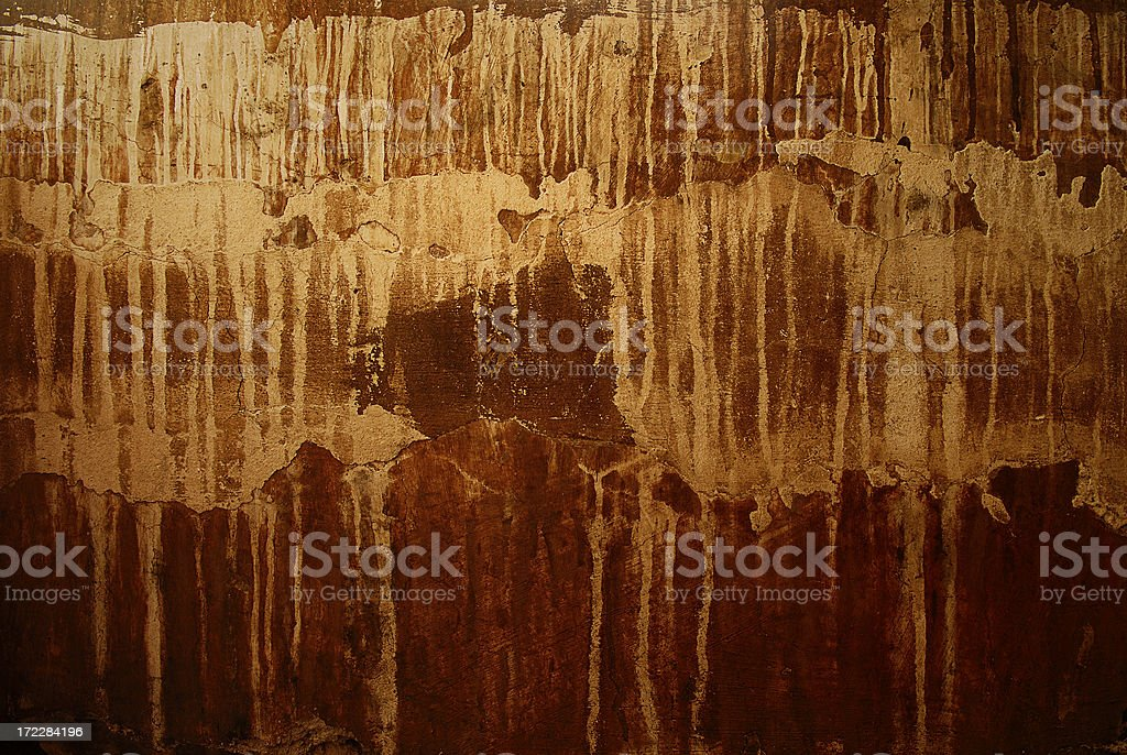 wall decay stock photo