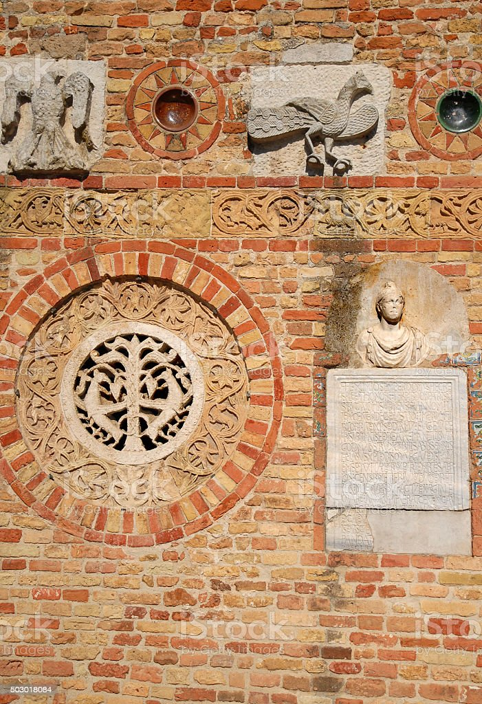 Wall decorations. stock photo