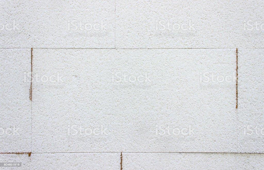 Wall foam stock photo