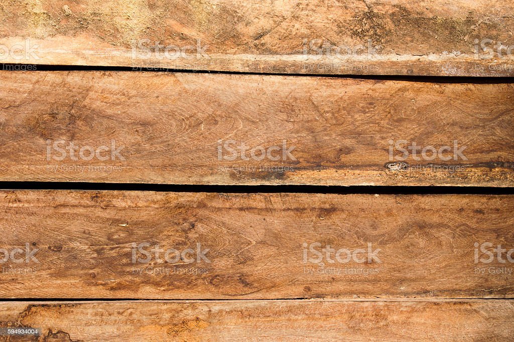 Wall from wood in rural. stock photo