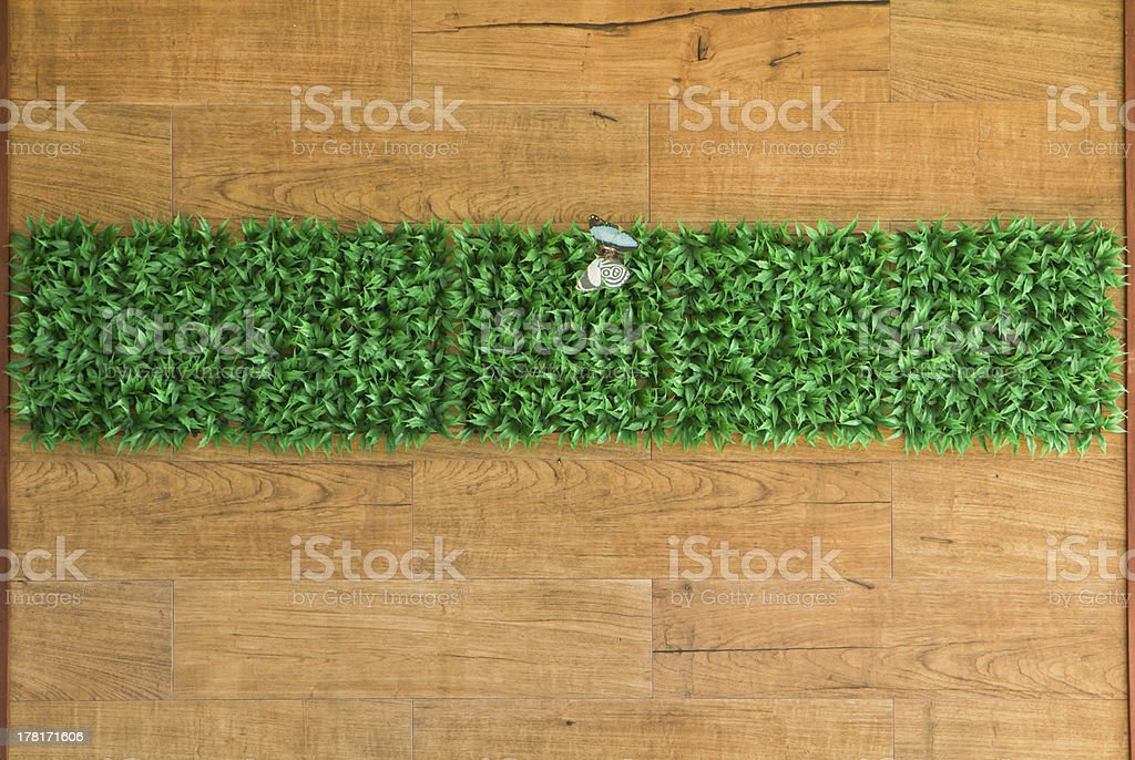 wall grass interior background naturaly royalty-free stock photo