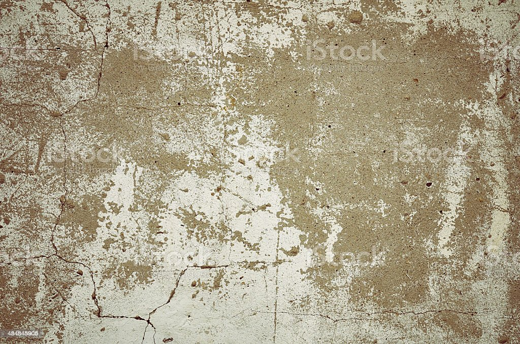 Wall gray beige grunge concrete background stock photo