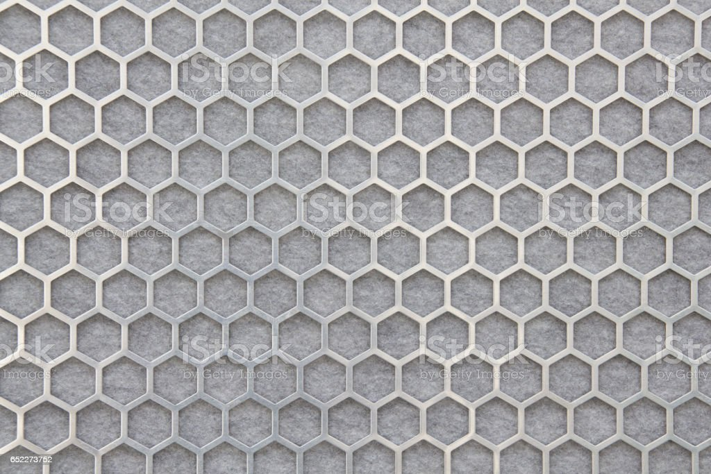 Wall, Honeycombed Structure stock photo