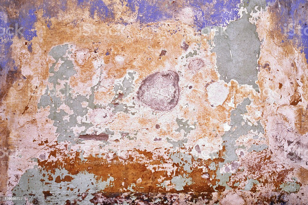 Wall in bad condition royalty-free stock photo
