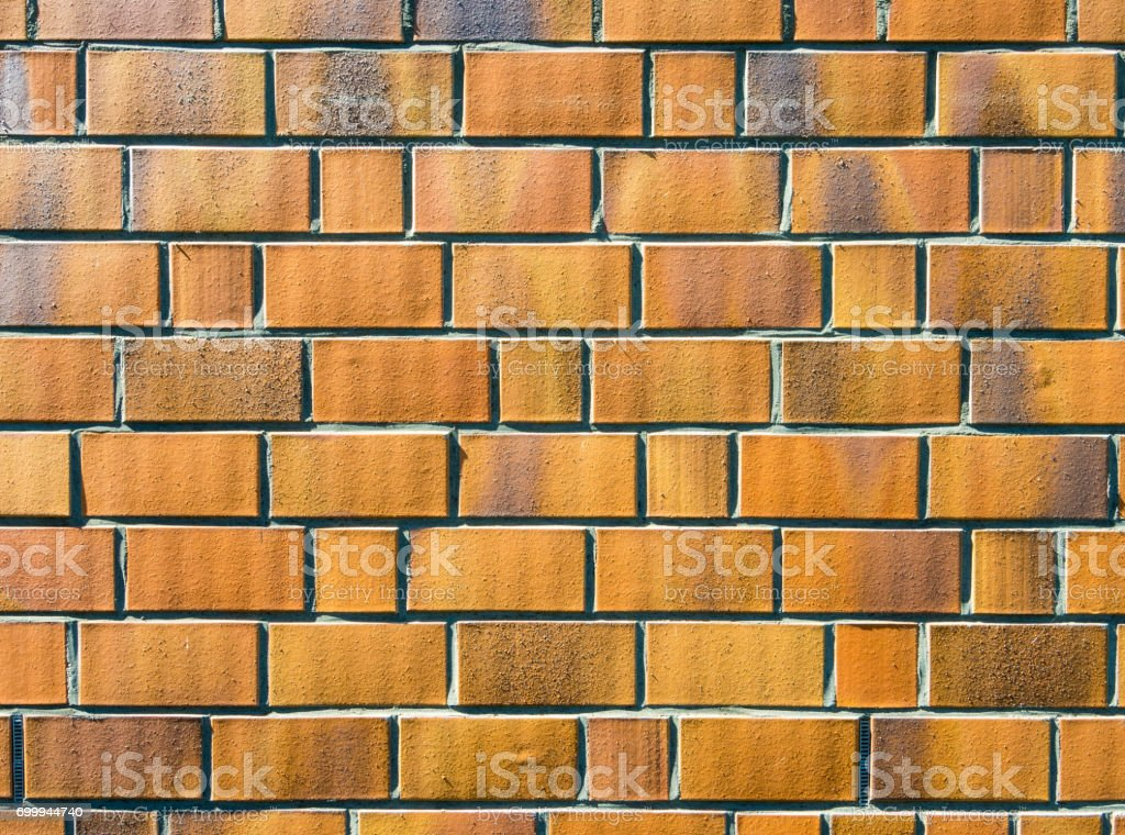 Wall in sidelight stock photo