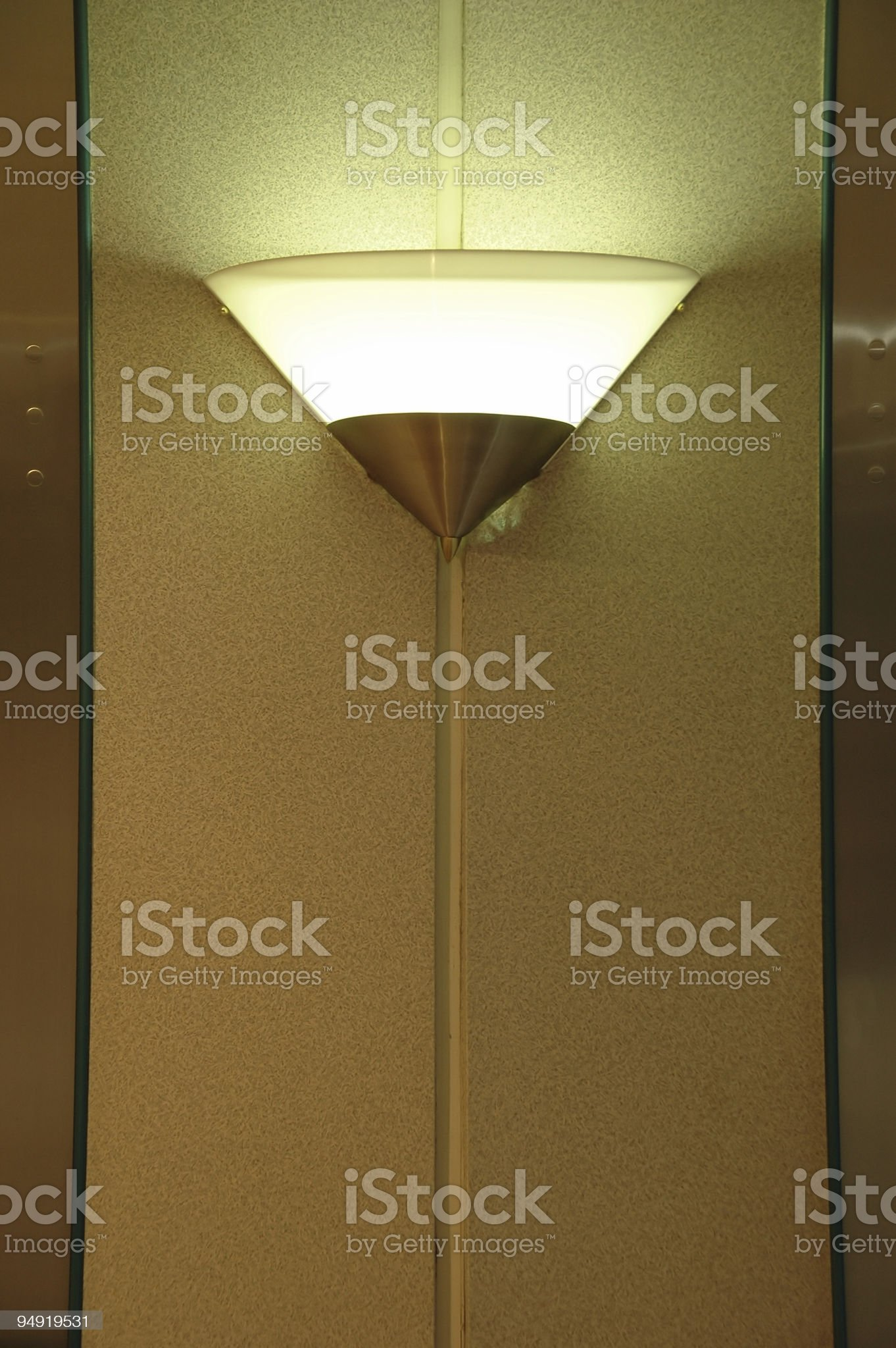 Wall lamp royalty-free stock photo