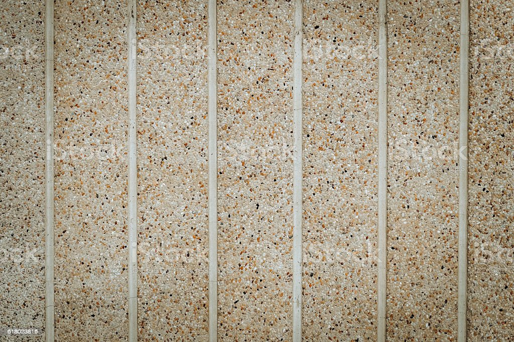Wall Made from stone, sand. horizontal stock photo