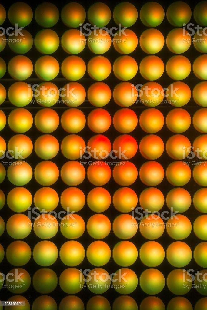 LED Wall Multicolored stock photo