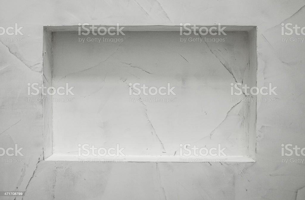 wall niche royalty-free stock photo