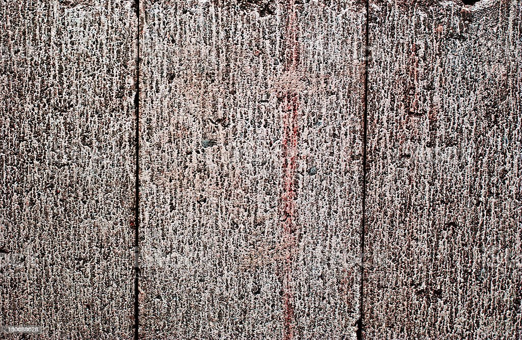 Wall of Concrete royalty-free stock photo