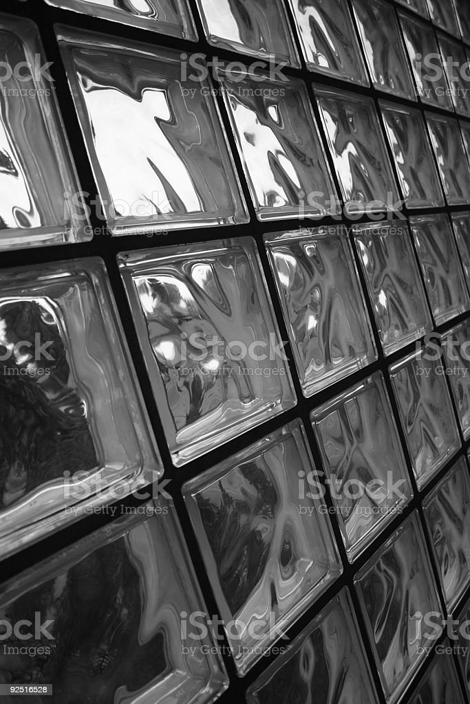 Wall of glass royalty-free stock photo