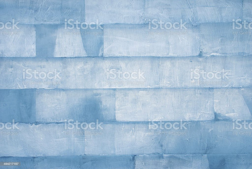 wall of ice stock photo