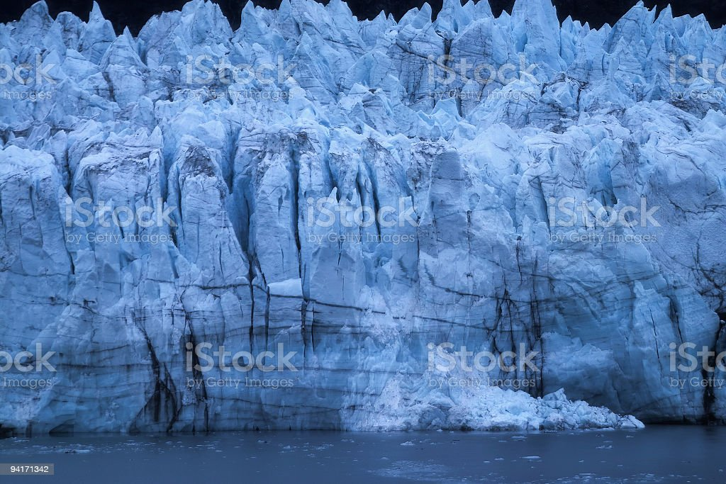 Wall of Ice royalty-free stock photo