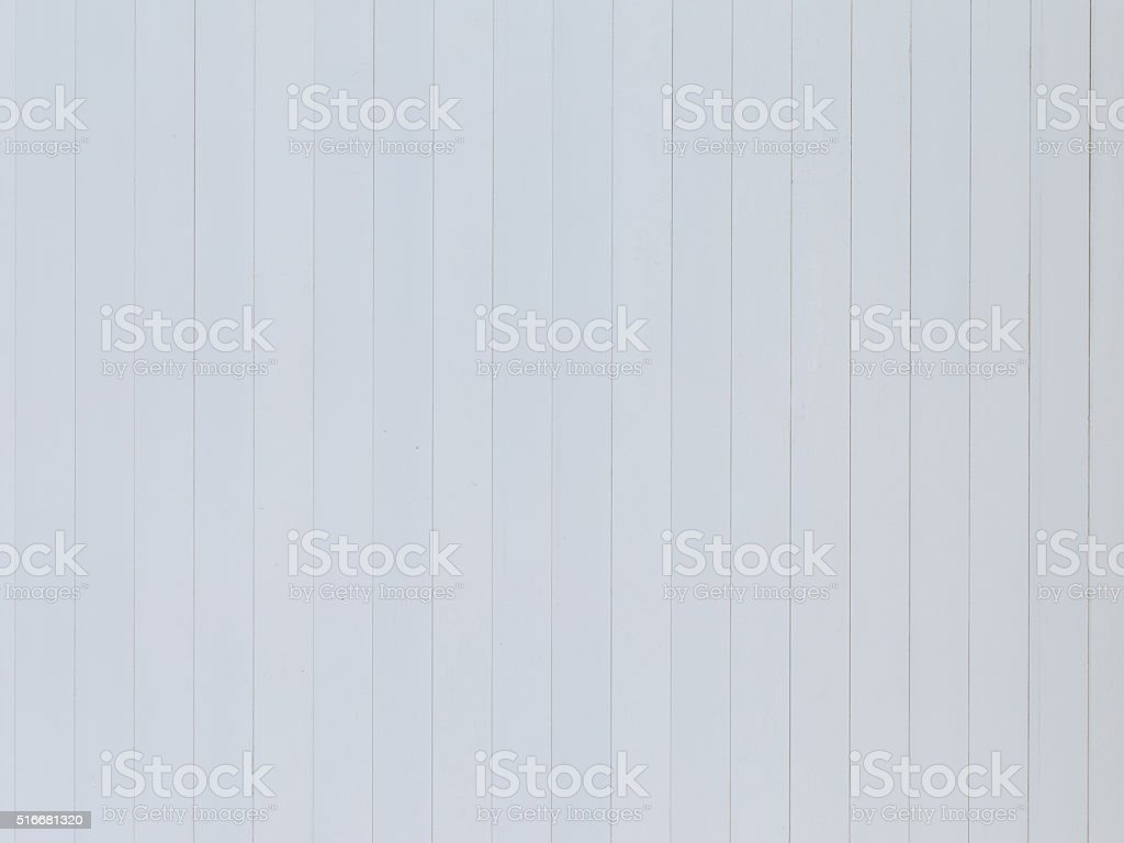 wall of painted white boards stock photo