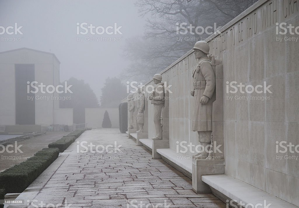 Wall of remembrance royalty-free stock photo