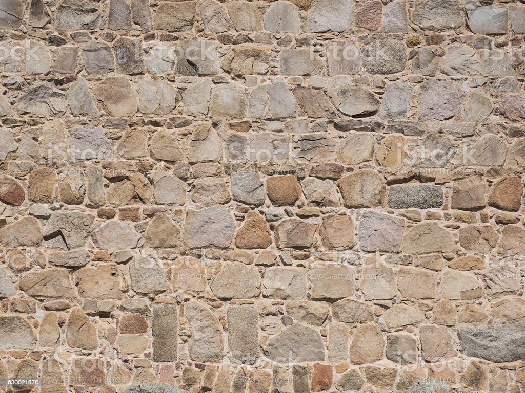 Wall of sandstone to use as background stock photo
