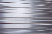 wall of sheet metal, corrugated metal,