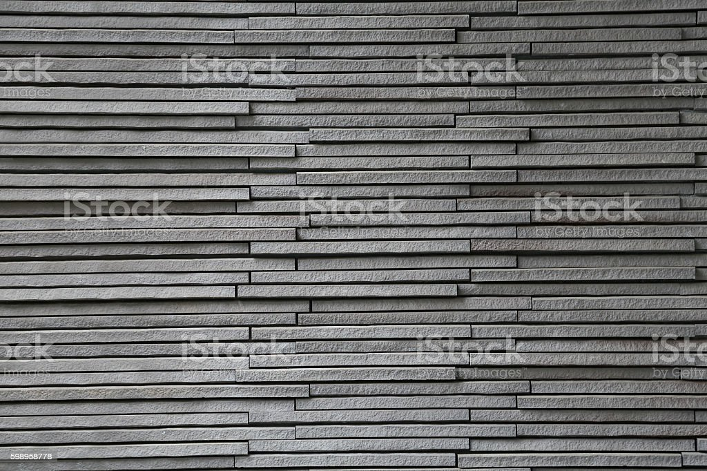 Wall of stone stock photo