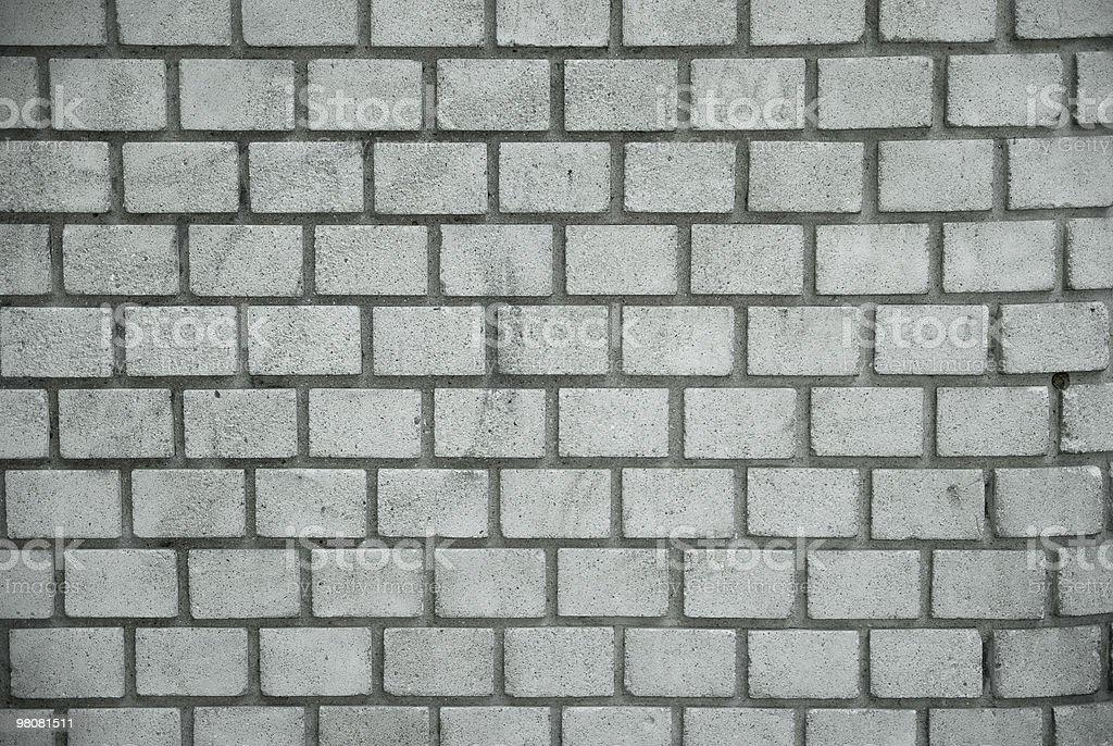 Pared de ladrillos blanco - foto de stock
