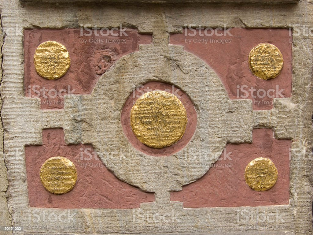 Wall Ornament royalty-free stock photo