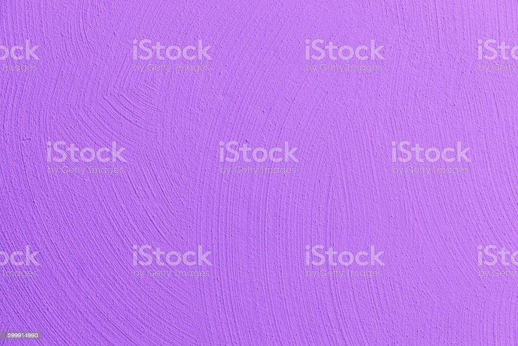 Wall painted in violet stock photo