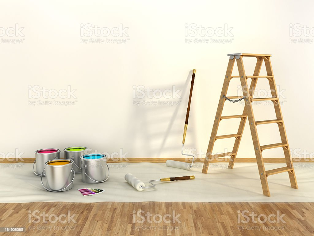 Wall painting royalty-free stock photo