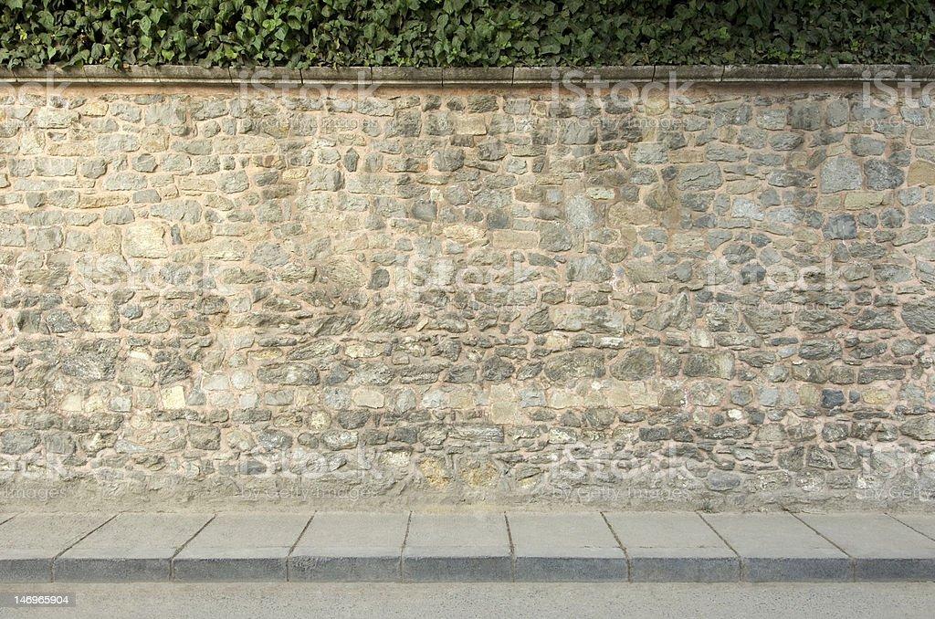 Wall royalty-free stock photo