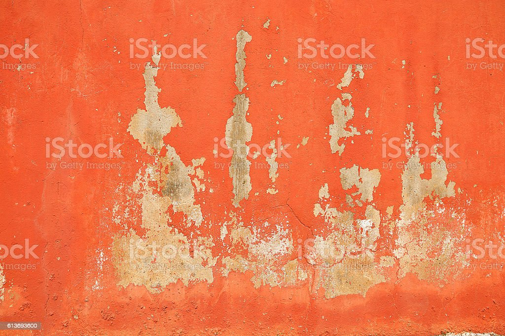 wall red stock photo