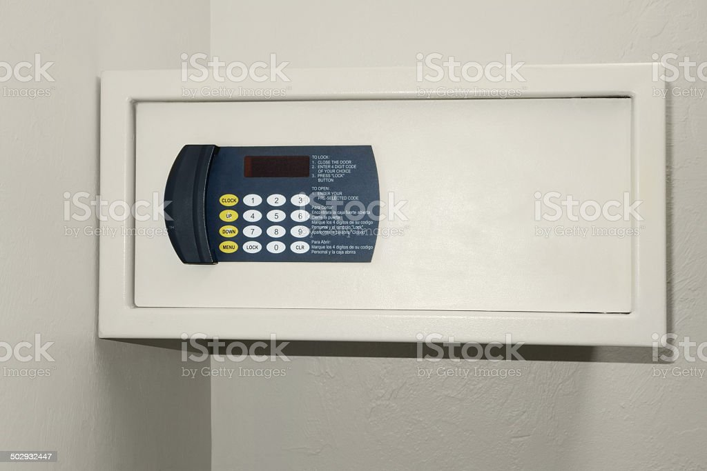 Wall safe royalty-free stock photo