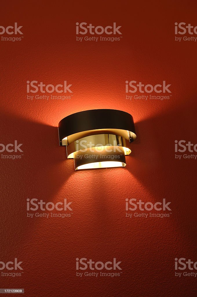 Wall Sconce royalty-free stock photo