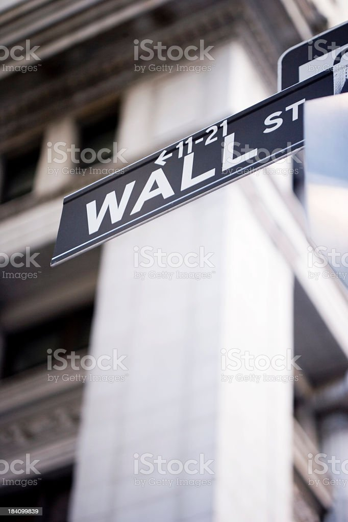 Wall sign royalty-free stock photo