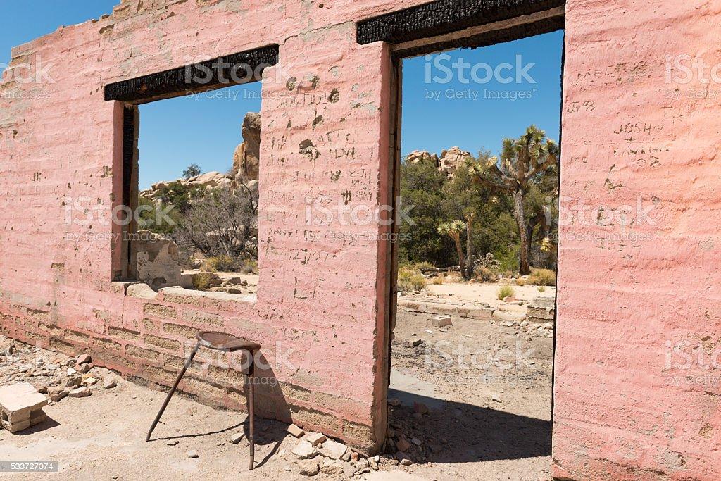 Wall Street Mill stock photo
