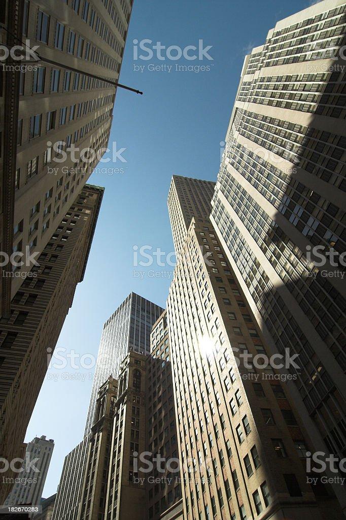 Wall Street NYC stock photo