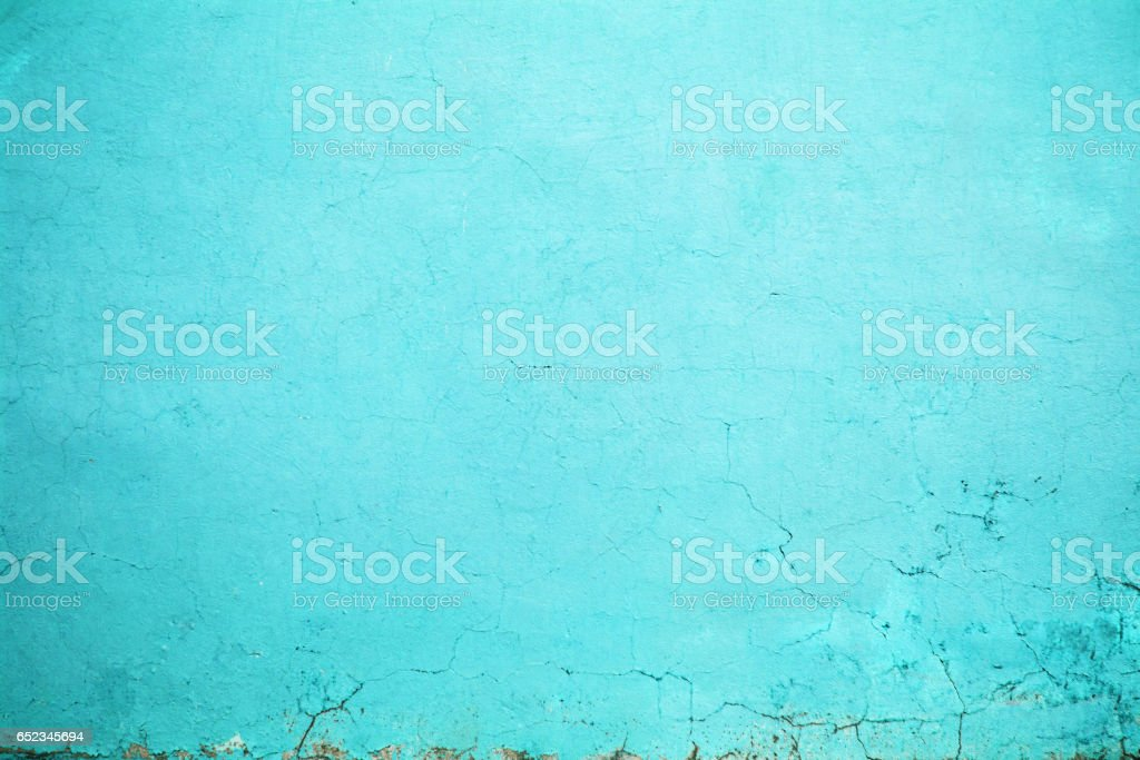 wall texture turquoise color, concrete structure closeup  urban background stock photo