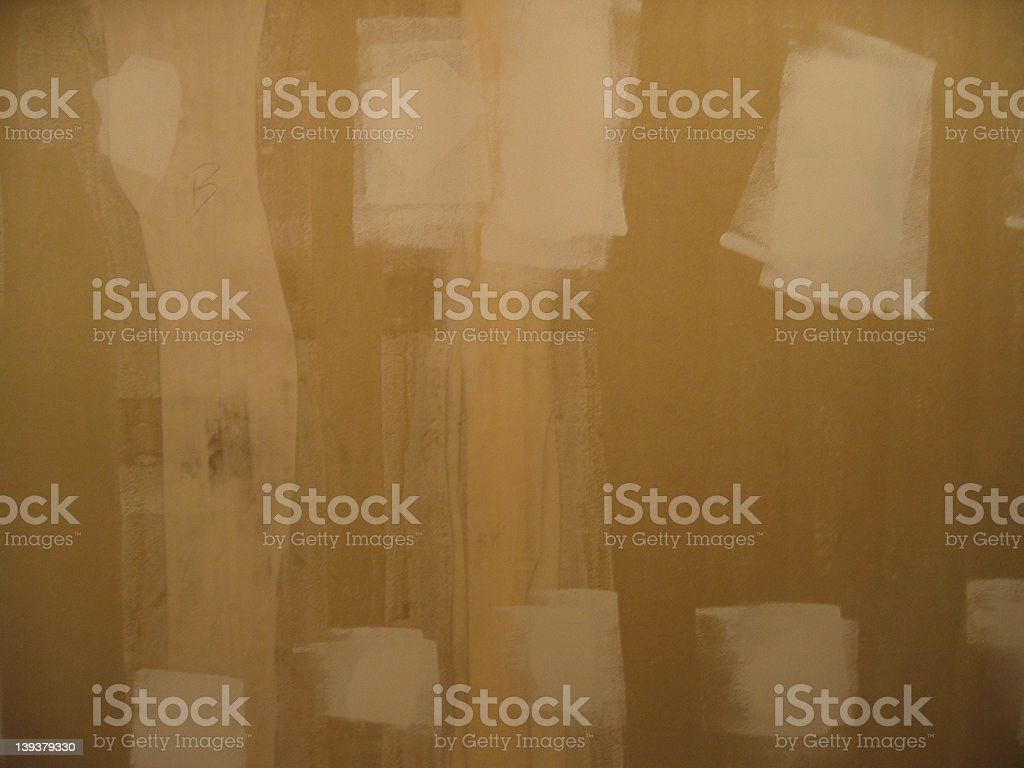 Wall to Be Painted stock photo