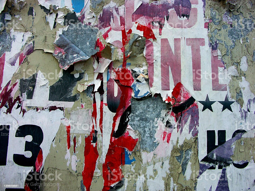wall with an history royalty-free stock photo