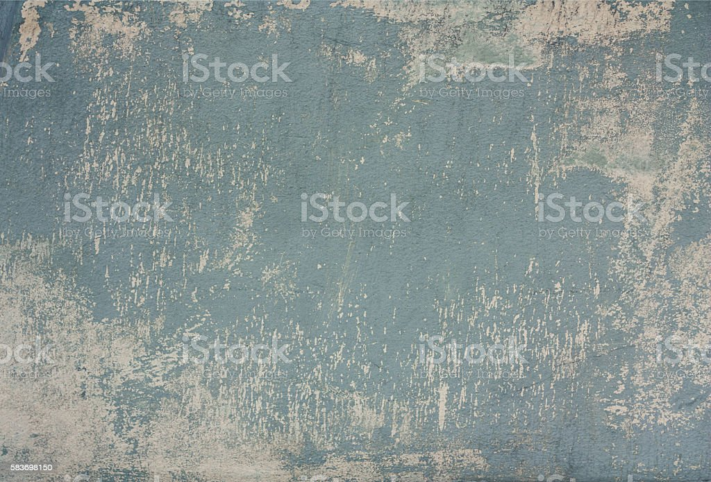 Wall with attritions stock photo