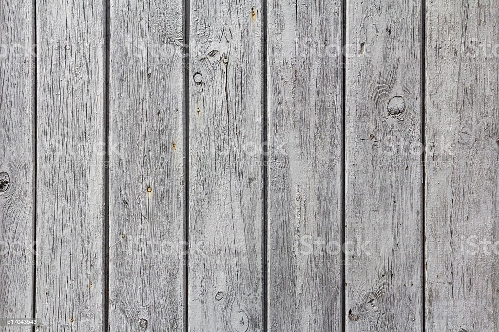 wall wooden planks painted  white grey stock photo