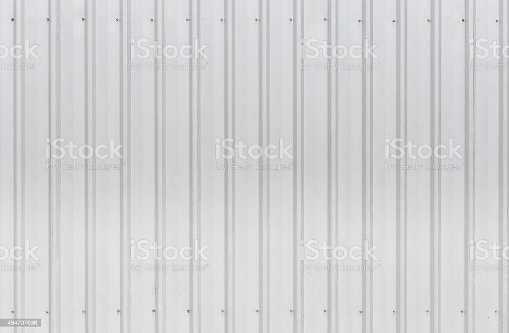 Wall zinc sheets texture stock photo