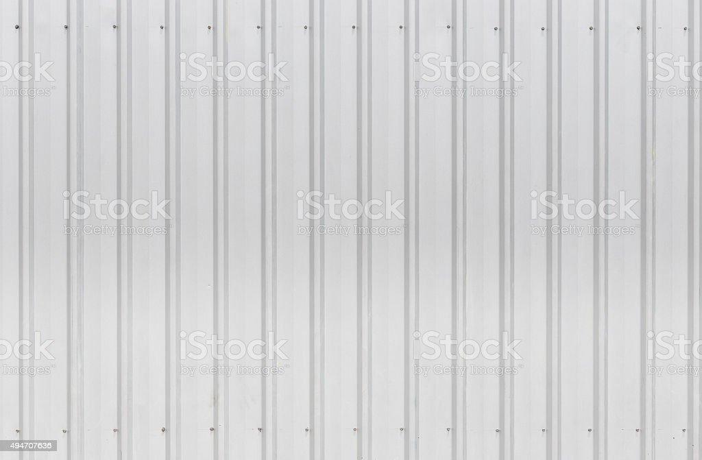 Wall zinc sheets texture stock photo