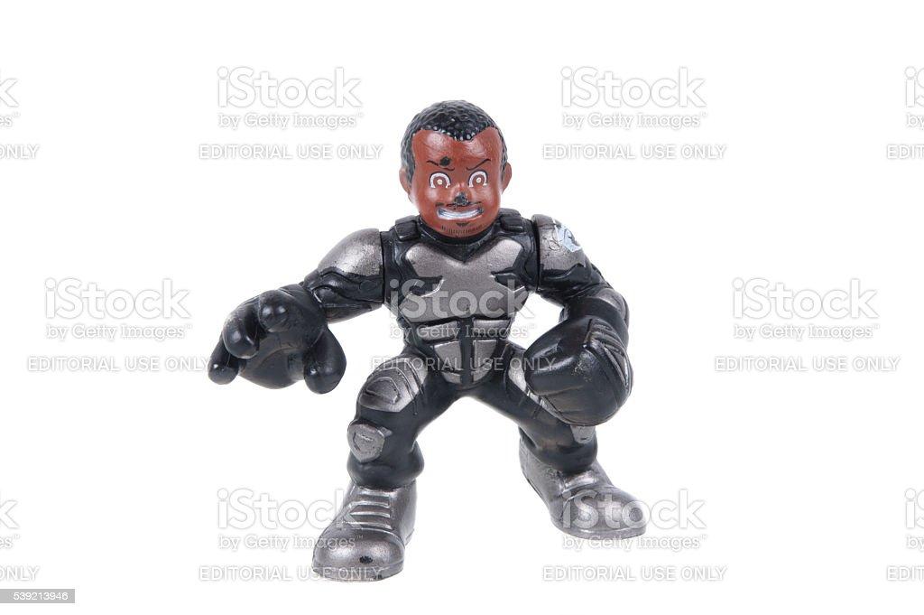 Wallace Ripcord Weems GI Joe Combat Heroes Action Figure stock photo