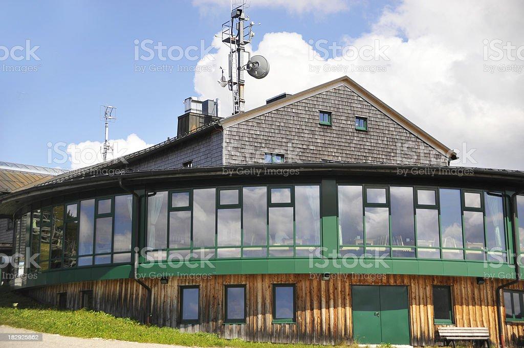 wallberghaus im Sommer stock photo